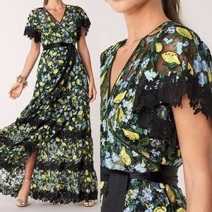 Diane Von Furstenberg Victorious Embroidered Gown